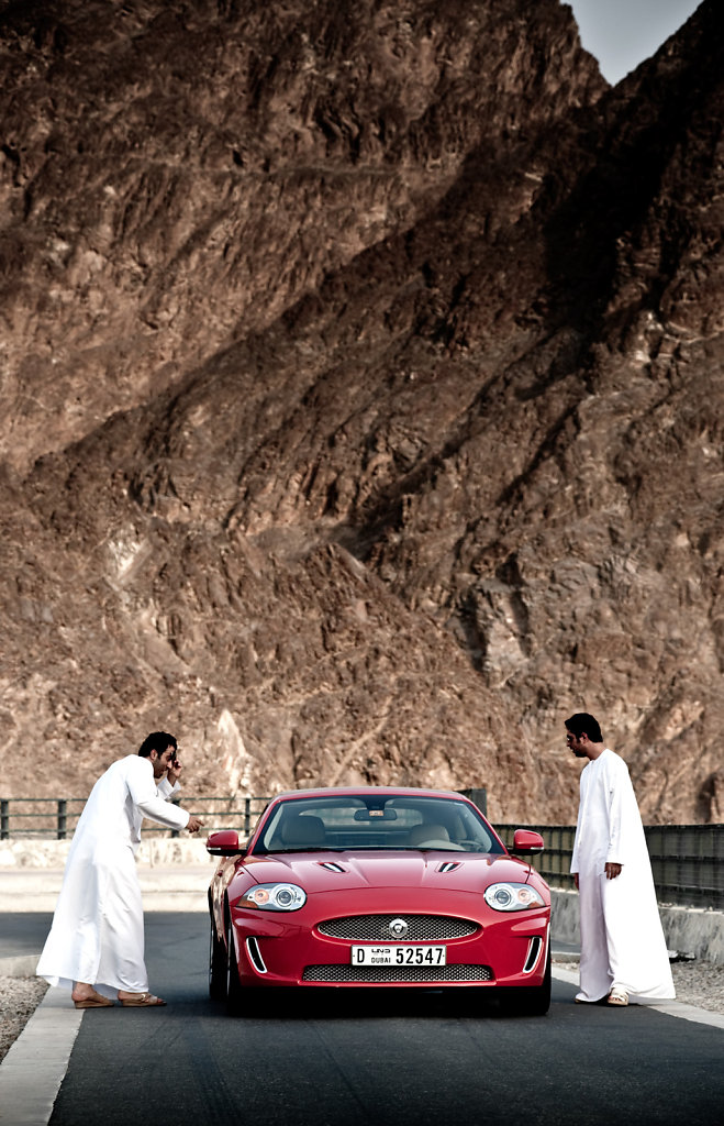 Jaguar XKR, UAE