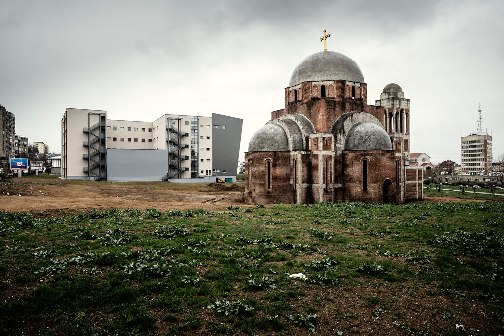 Unfinished Church, Pristina, Kosovo