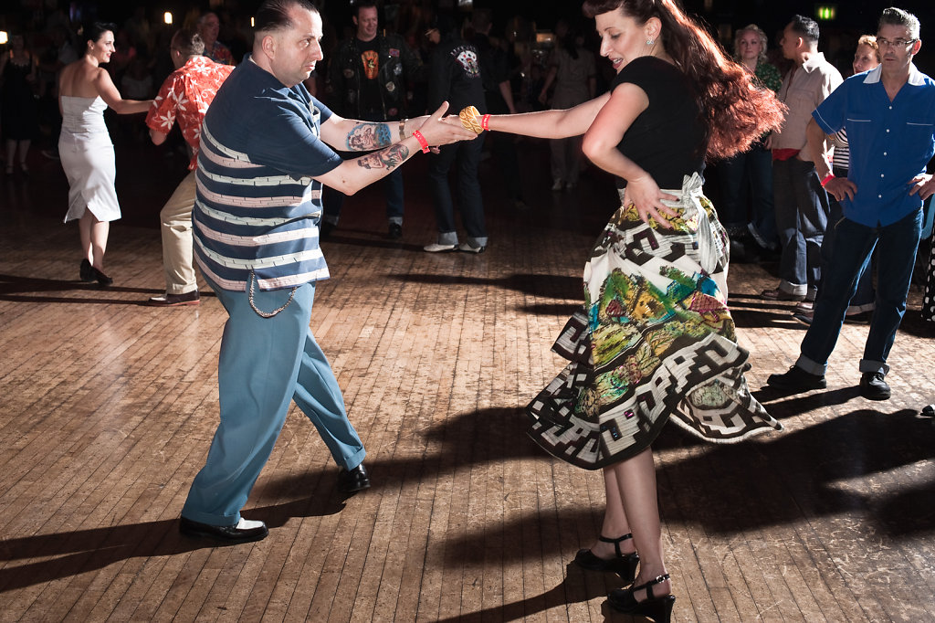 Dancefloor at Rockabilly Rave, Camber Sands #1