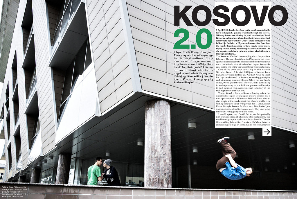 Kosovo 2.0 for BA High Life Magazine