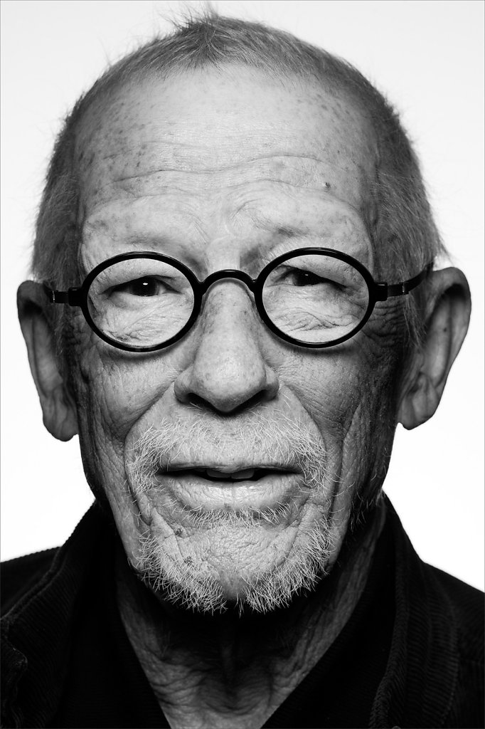 Sir John Hurt for Shortlists 'The Greatest'.