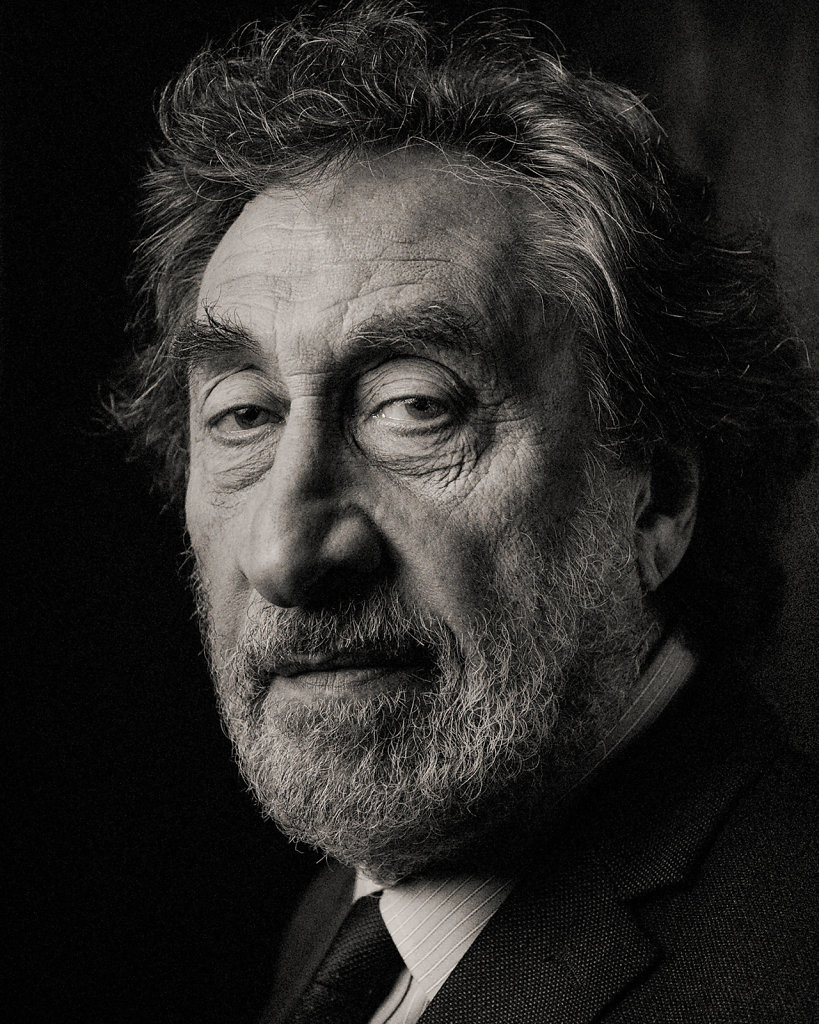 Author Howard Jacobson photographed for Shortlist