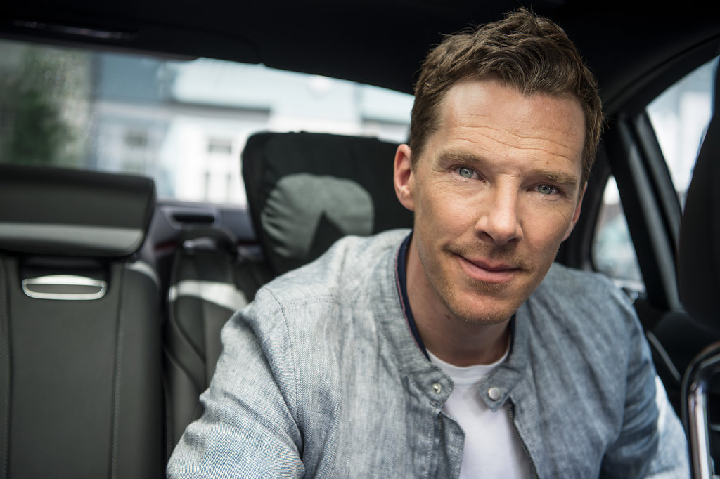 Benedict Cumberbatch for Mercedes